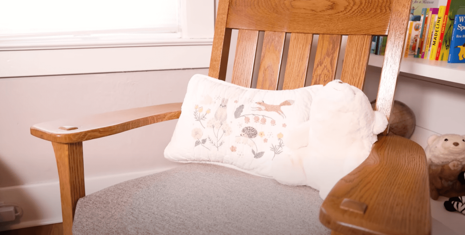 rocking chair close up