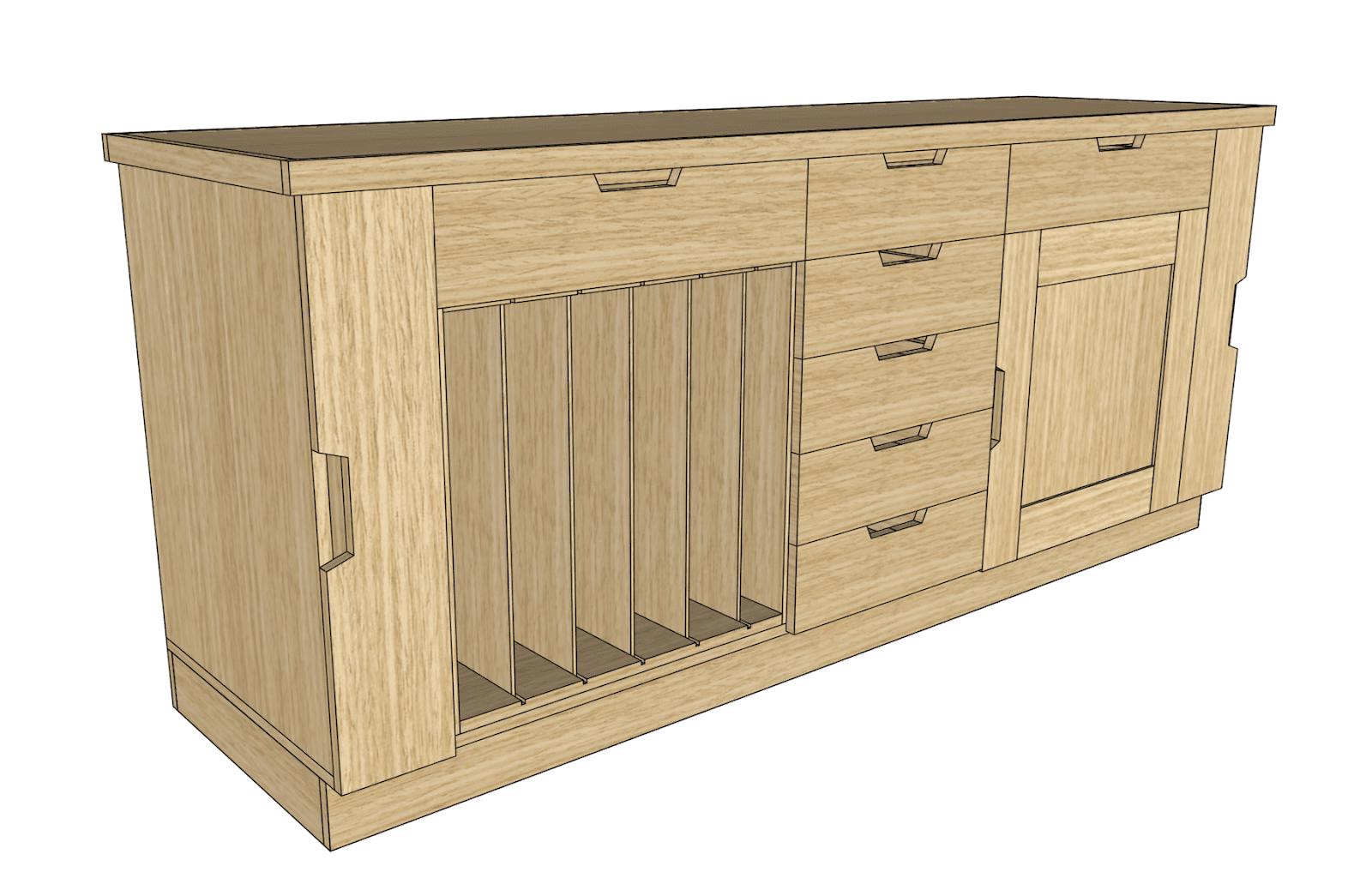 cabinet build plan
