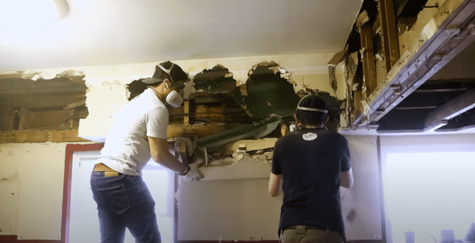 Sam and Jordan tearing down walls