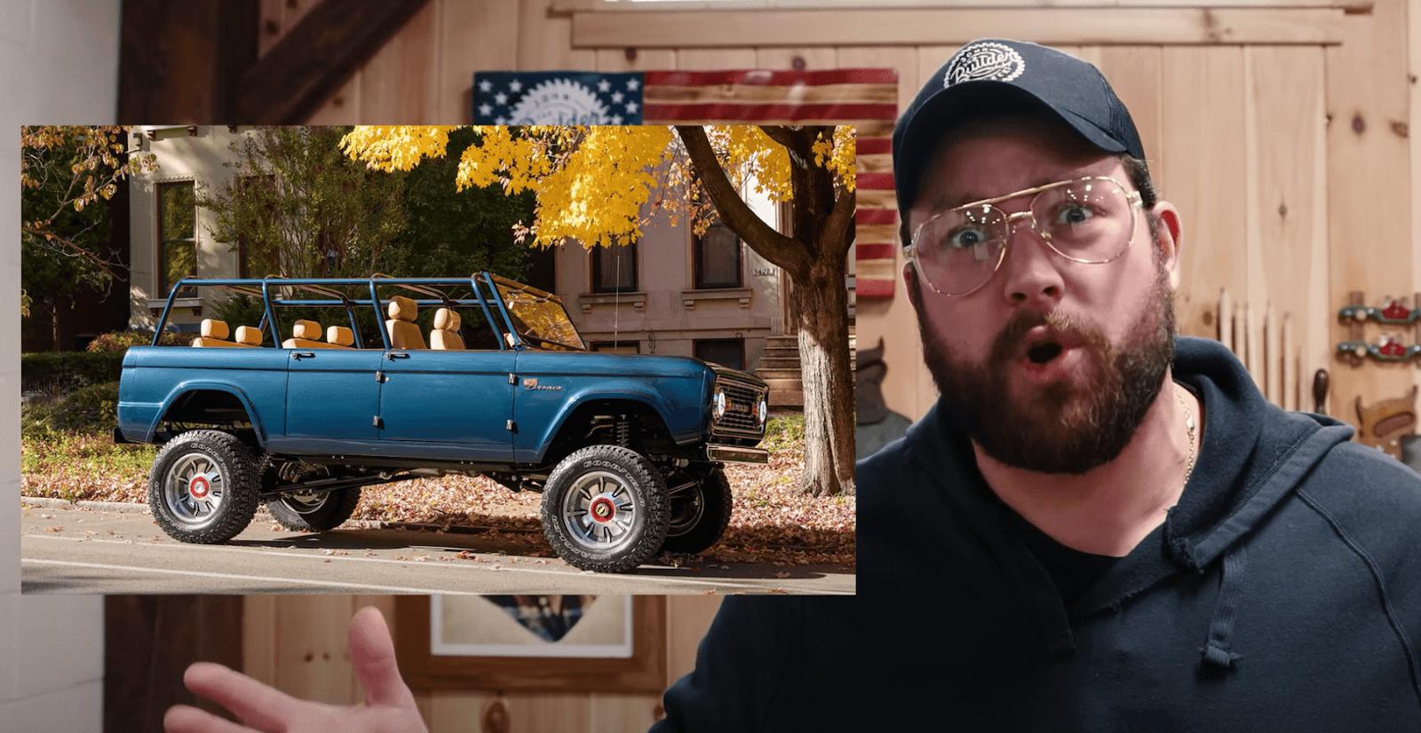 John Malecki and a Ford Bronco