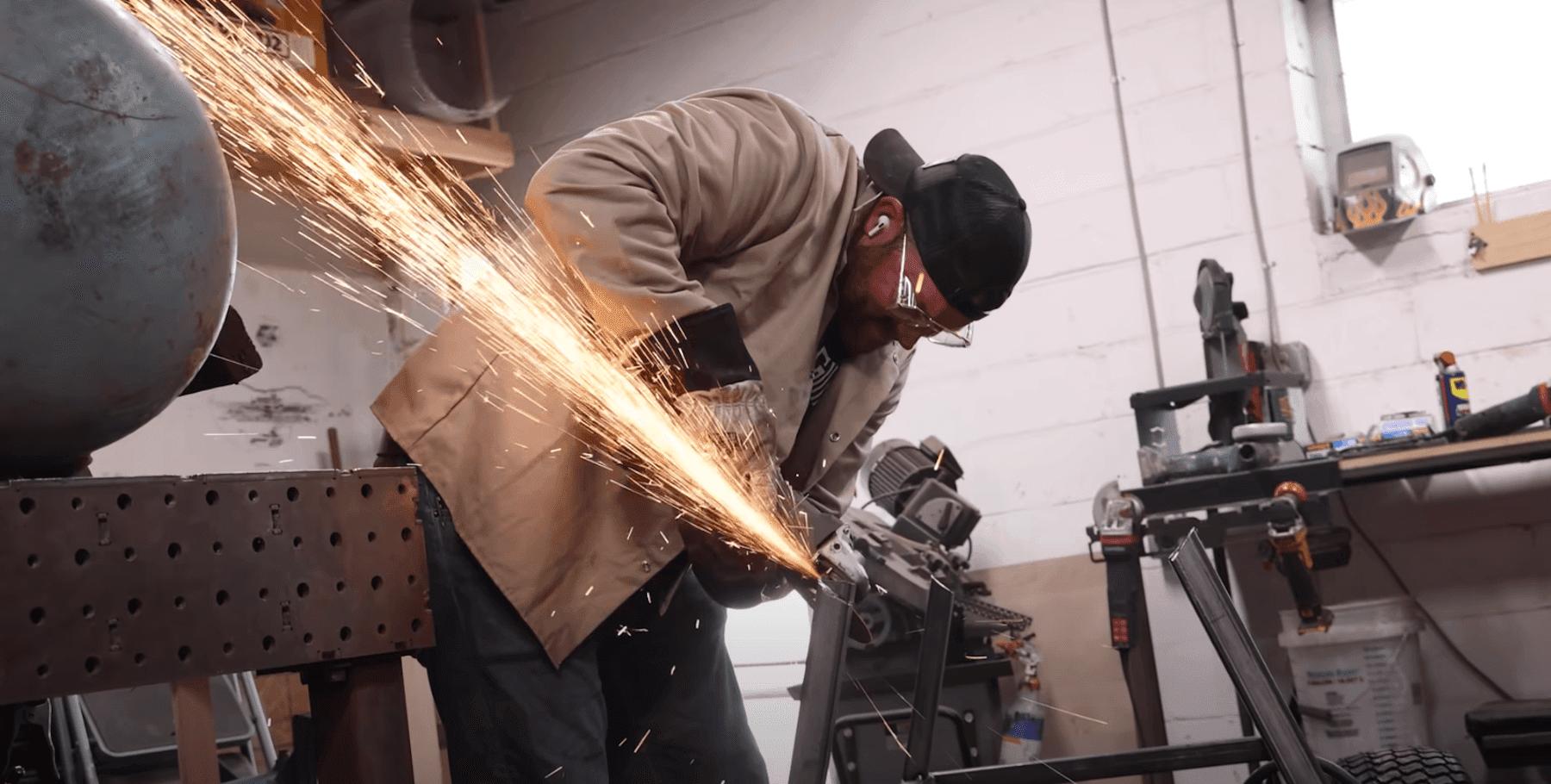John Malecki welding
