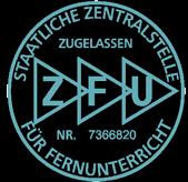Logo ZFU – Staatliche Zentralstelle für Fernunterricht