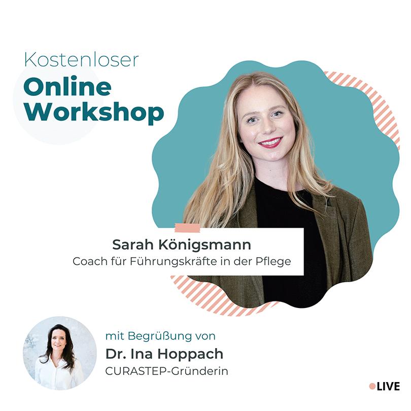 Online Workshop – 4 Schritte - Selbstmotivation für Pflegekräfte