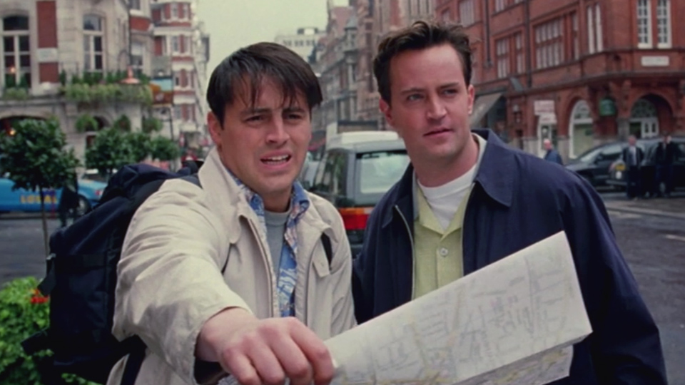 Joey and chandler go to london