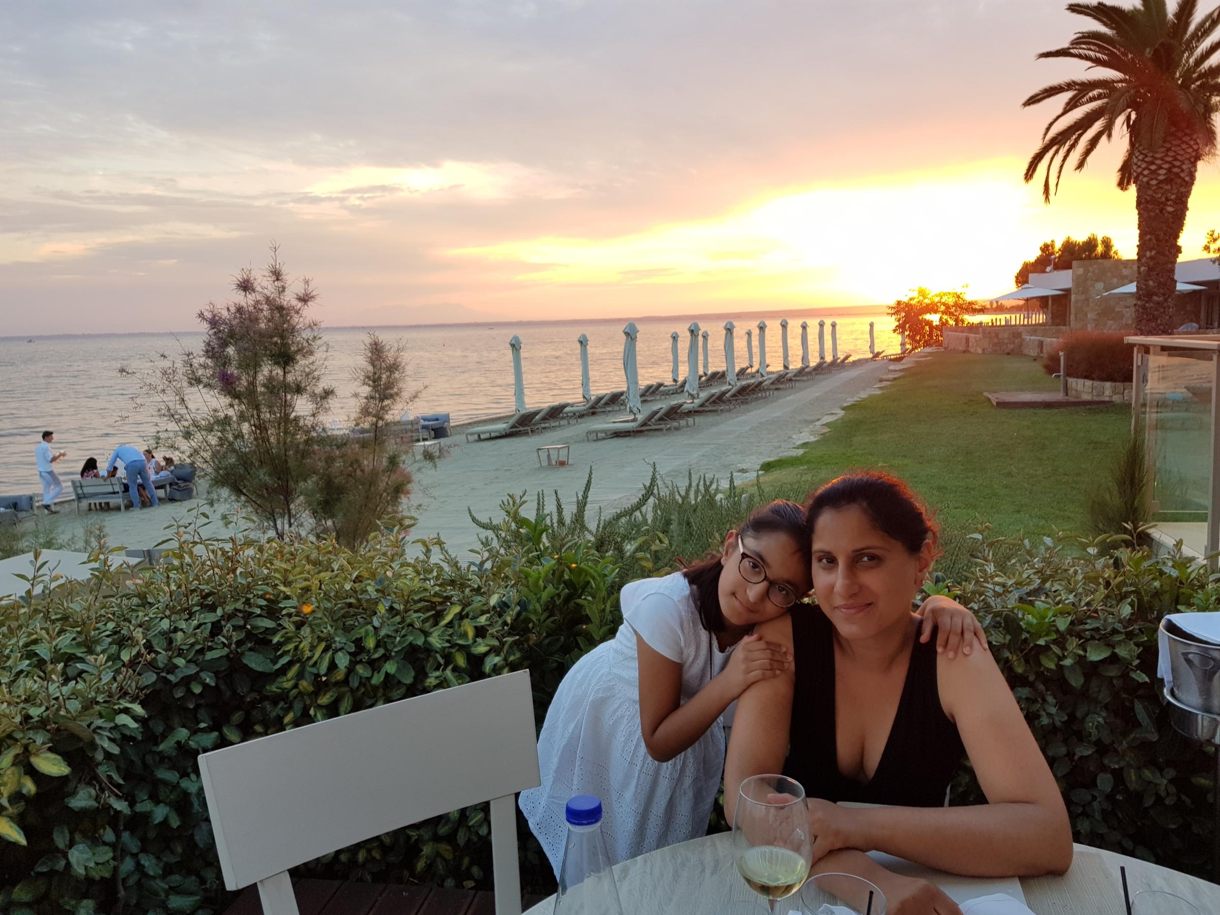 Sheetal and daughter Naisha