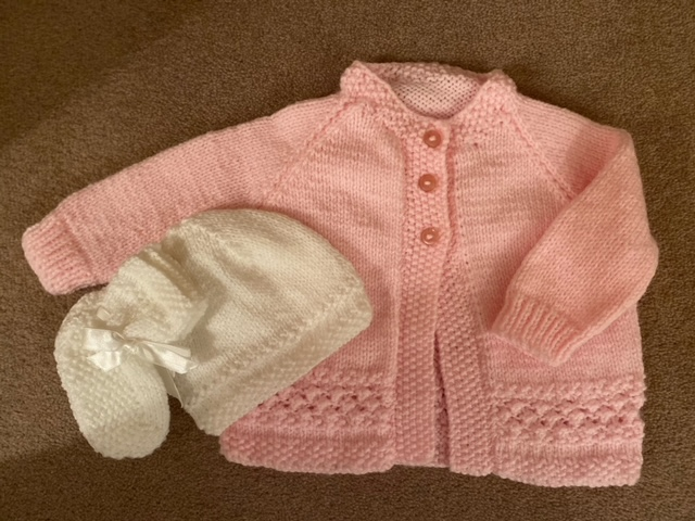 SALE! Banburyshire's best-dressed baby wears hand knits this season!