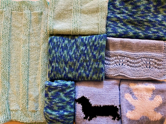 No reason to be cold this winter - pick a blanket to suit your colour-scheme