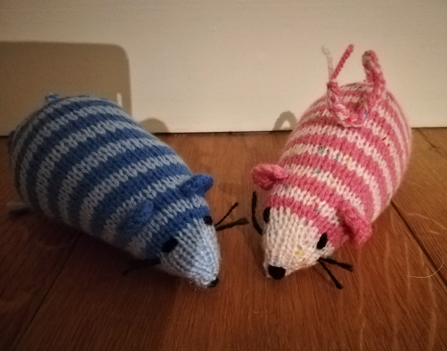 Striped mice - hours of fun for your cat!