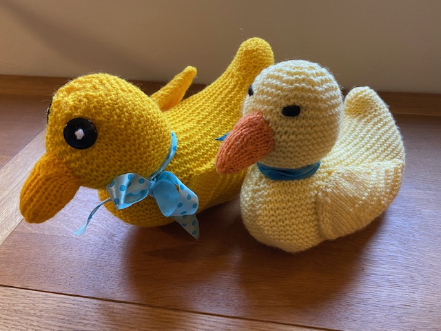 Easter duckies - mum and baby duckling