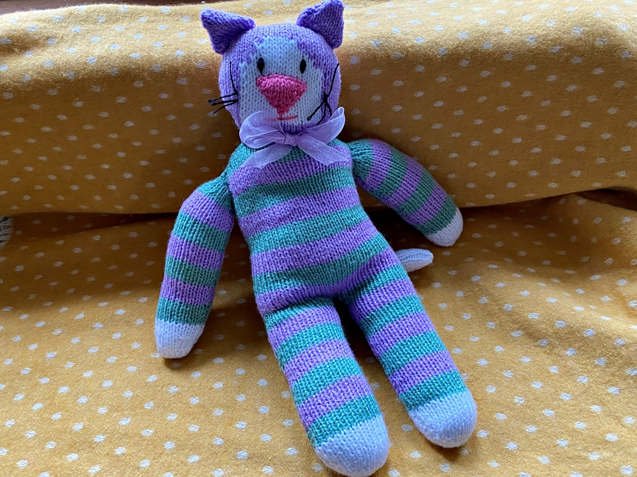 Patrick - the purrfect purple pal