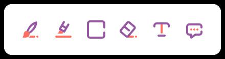 pdf editor toolbar
