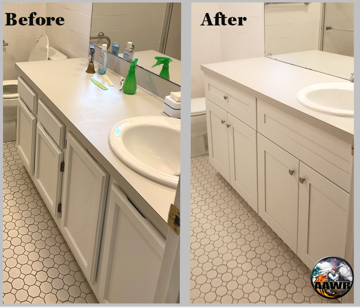 Mold Remediation Before and After