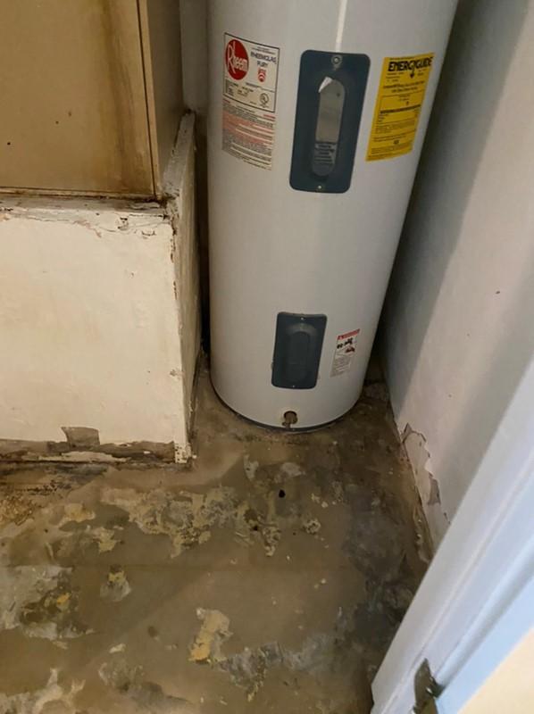 Hot Water Heater Leak