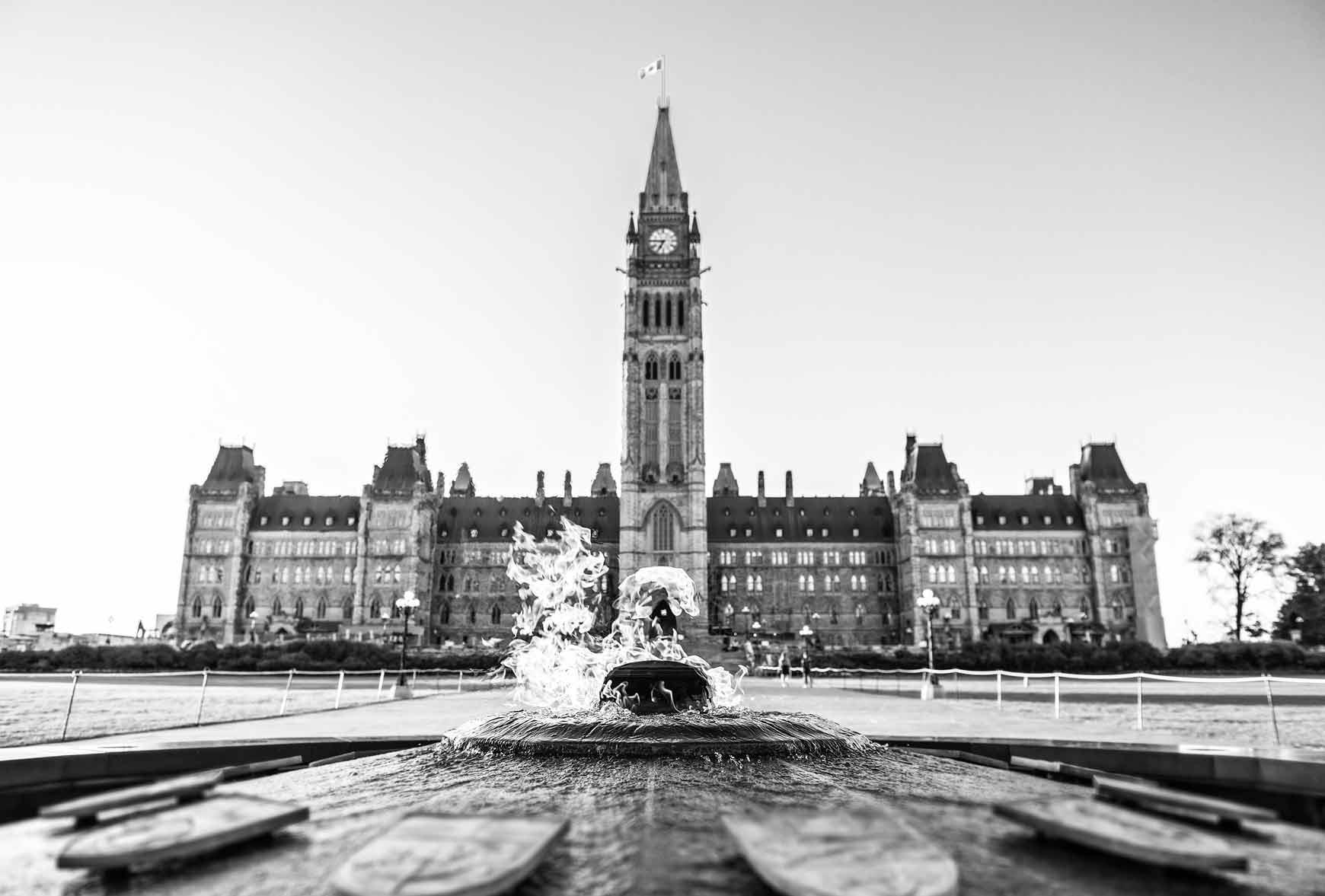 Photo of the Ottawa Centre Block