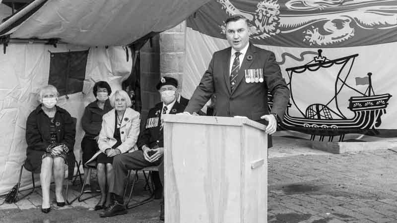 Senior Political Associate Brian Macdonald Speaks in New Brunswick
