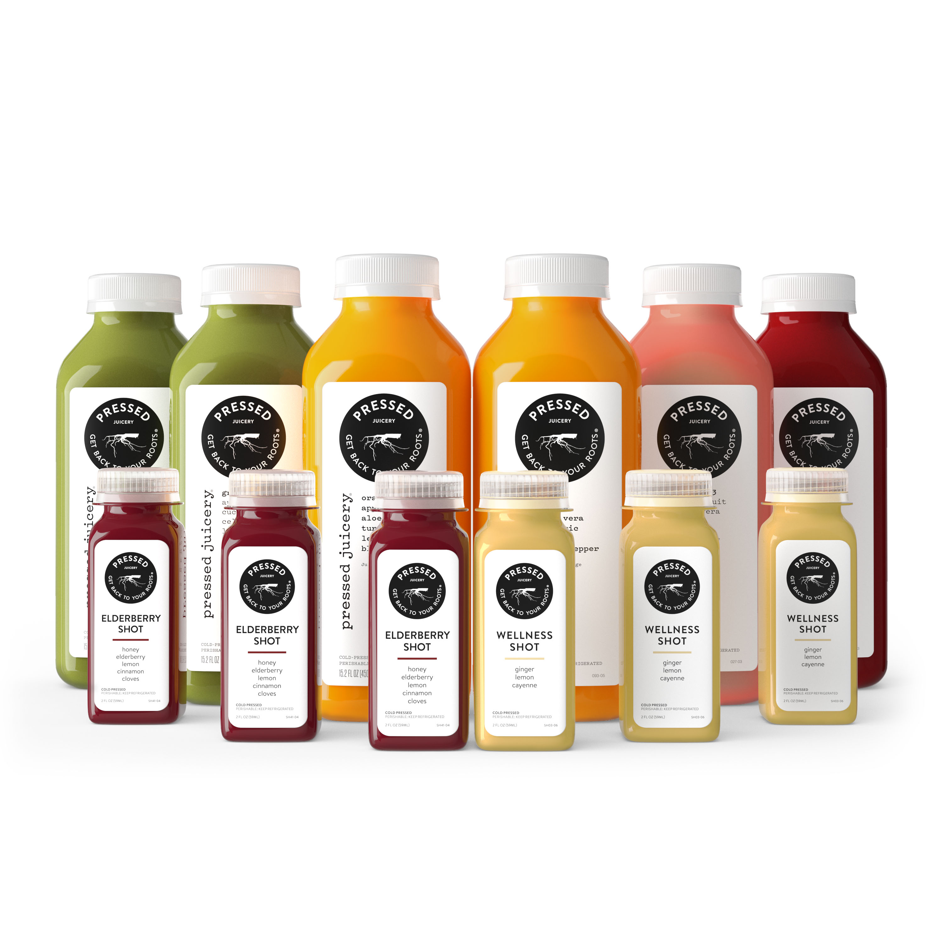 Pressed Juicery family product rendering