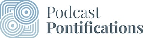 Podcast Pontifications logo