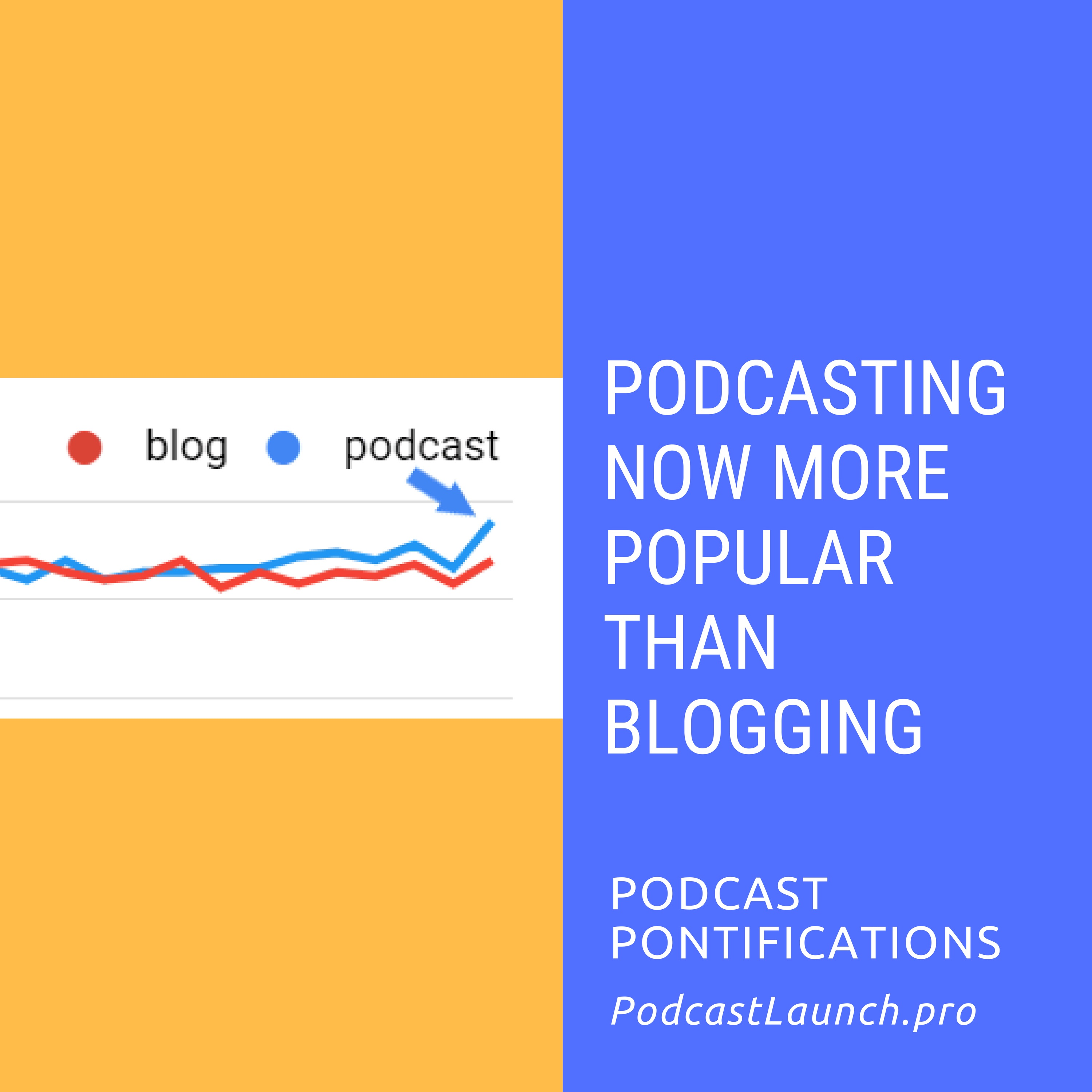 Podcasting Now More Popular Than Blogging