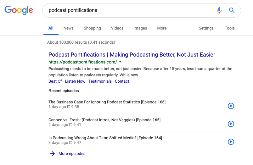 Google Just Made Podcast Websites Really, Really Important