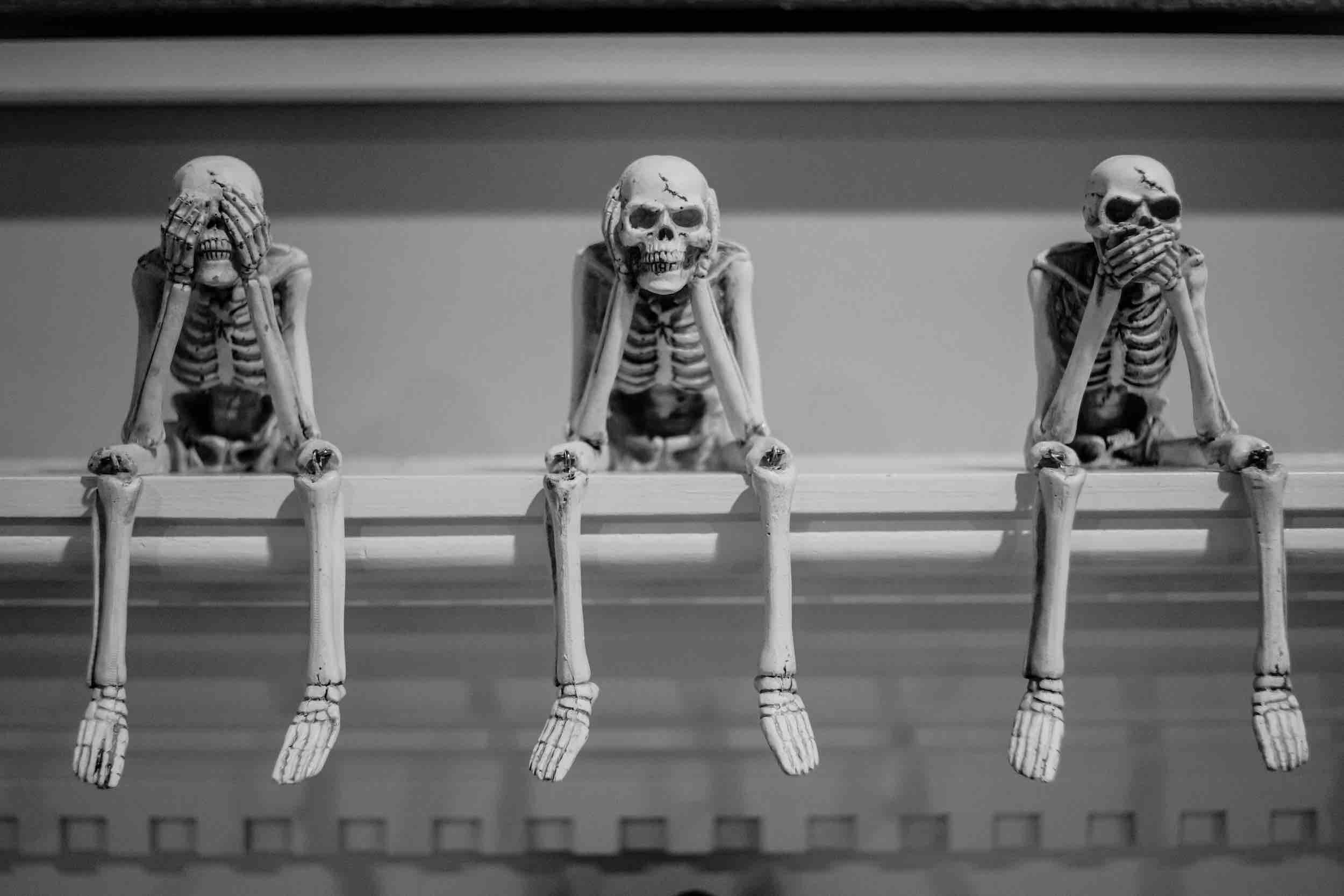 Dealing With The Skeletons In Your Podcasting Closet