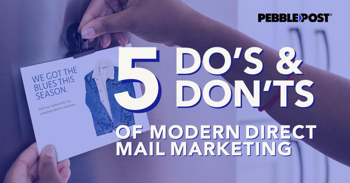 modern direct mail marketing