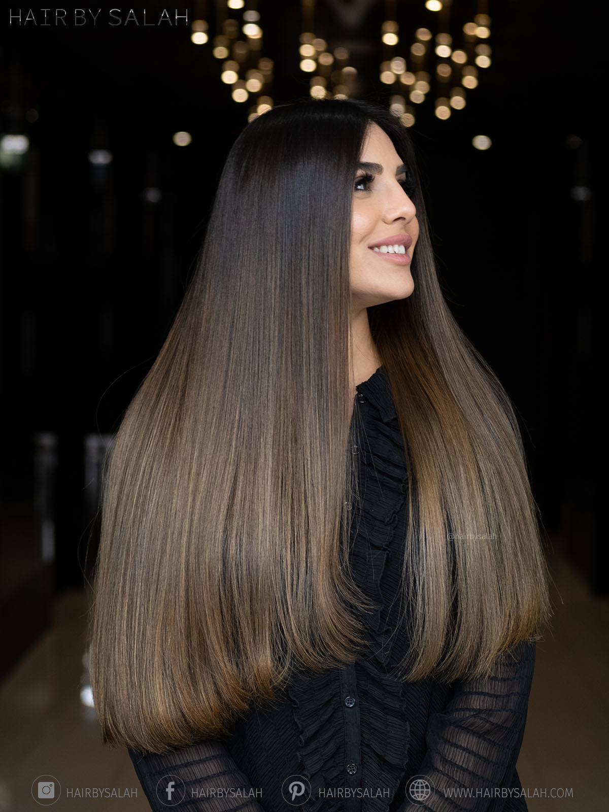 Shade Blend Service From Hair By Salah And Hair Creators Team