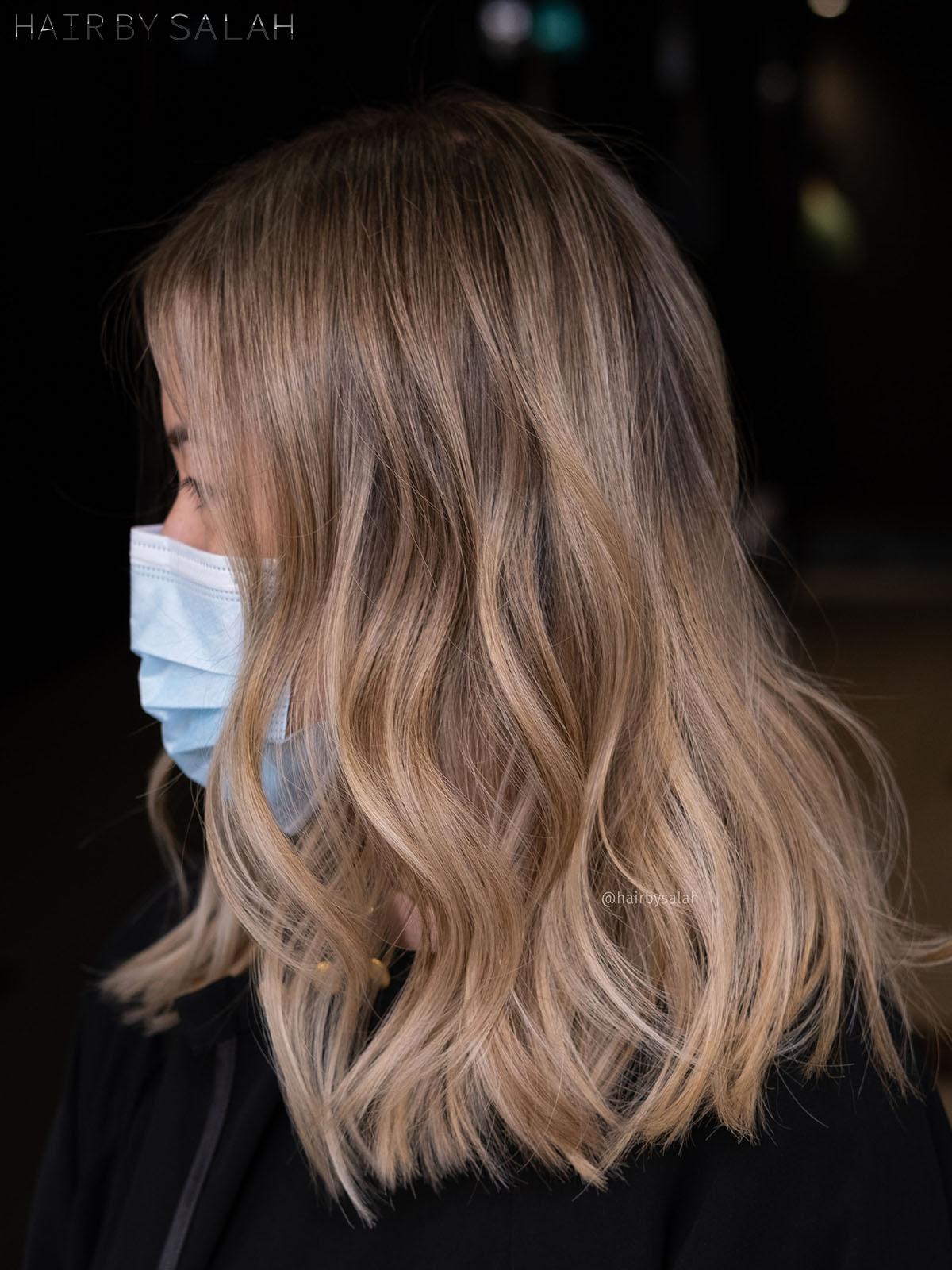 Beige Blonde Shade by Salah & Hair Creators Color Team. #beigeblonde#beigehair#lightblonde