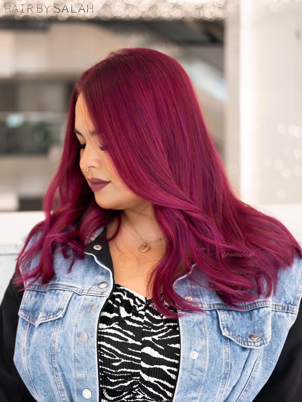Magenta Pink Hair