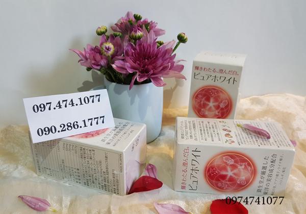 viên uống Collagen Pure White