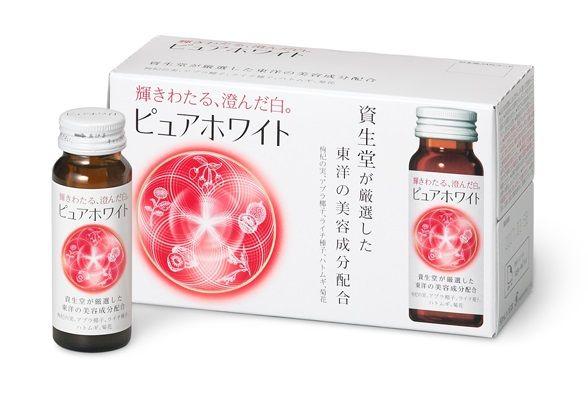 Nước uống Collagen Pure White Shiseido trắng da toàn thân Nhật Bản