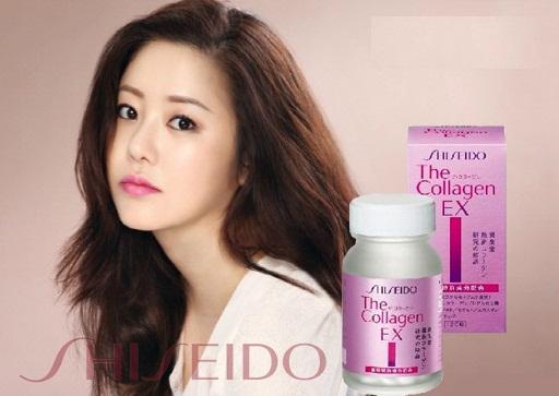Viên uống đẹp da shiseido collagen ex dạng viên là sản phẩm mới của shiseido