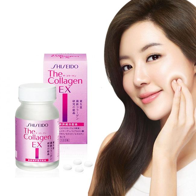 Viên uống đẹp da shiseido collagen ex dạng viên