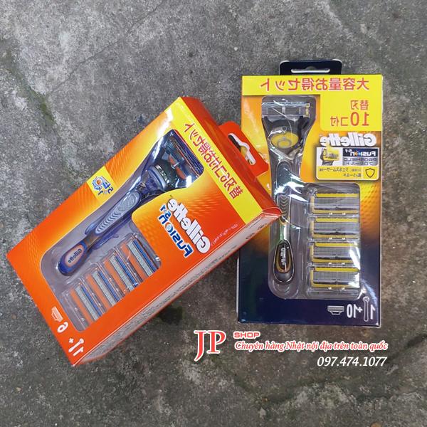 Dao cạo râu Gillette 5 lưỡi của Nhật được sản xuất bởi Gillette - Japan