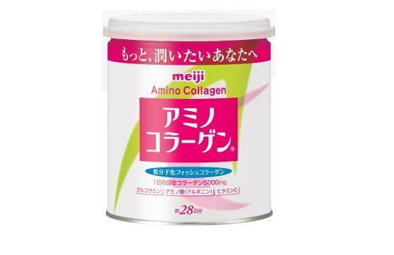 Lon Collagen Meiji Amino dạng bột