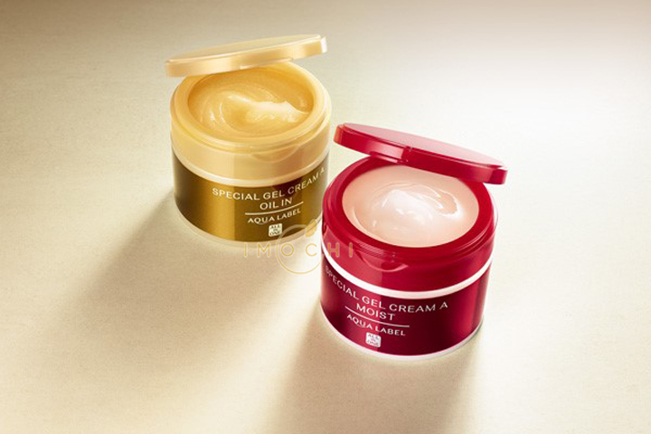 Kem dưỡng Shiseido Aqualabel màu vàng