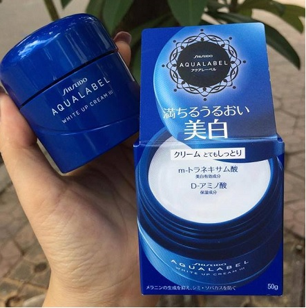 Kem dưỡng Shiseido Aqualabel xanh