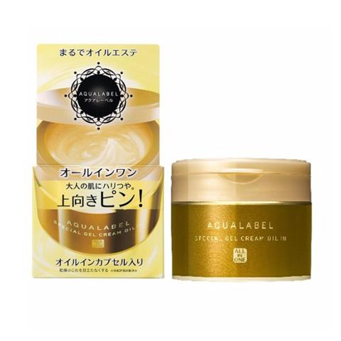 Kem dưỡng Shiseido aqualabel vàng