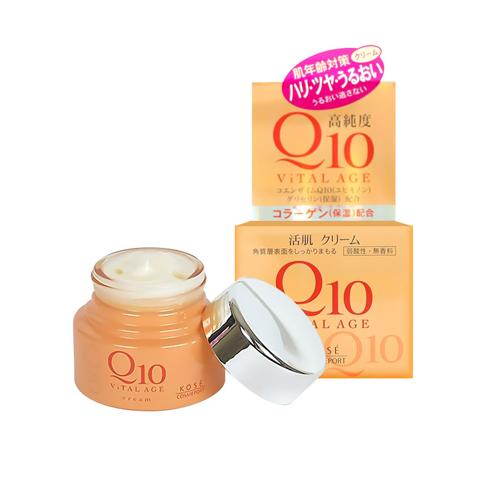 Kem Q10 Kose Vital Age dưỡng da chống lão hóa