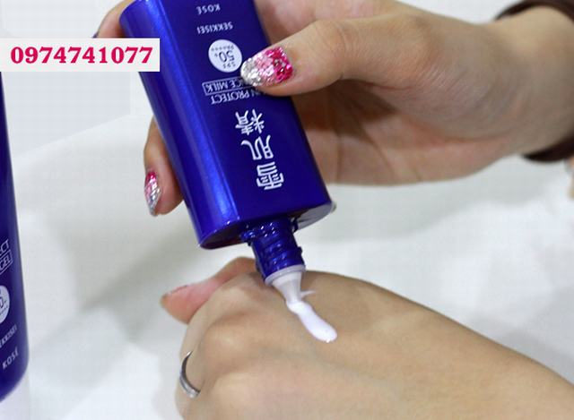 Kem chống nắng Kose Sekkisei Sun Protect Milk SPF50+/PA++++ Nhật