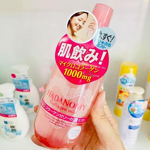 Nước hoa hồng Hadanomy Collagen Mist