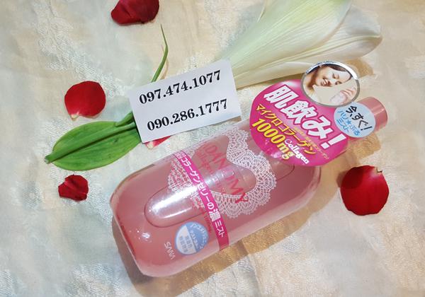 Nước hoa hồng Hadanomy Collagen Nhật Bản