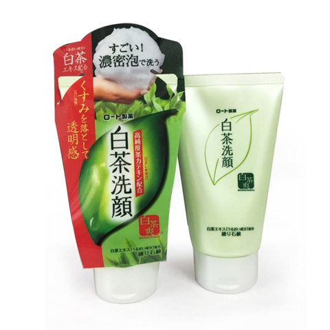 Sữa rửa mặt Shirochasou trà xanh Matcha Rohto