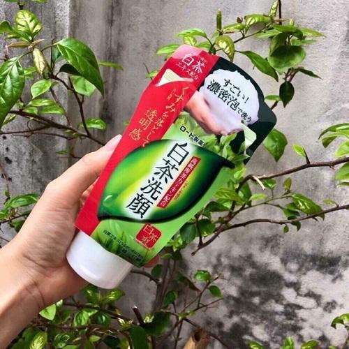 Sữa rửa mặt trà xanh Nhật Bản Rohto Shirochasou Green Tea Foam