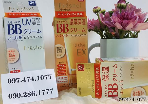 Kem nền BB Cream Kanebo Freshel của Nhật