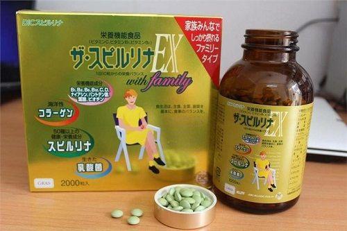 Tảo vàng Nhật Bản EX có nhiều công dụng