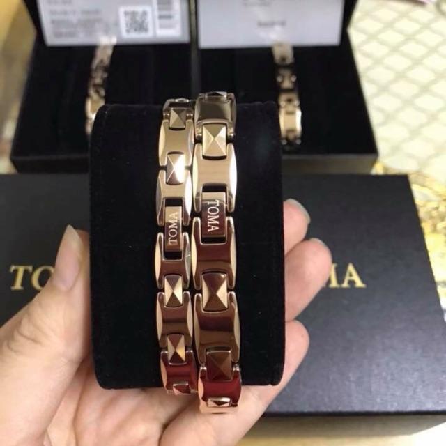 Vòng điều hòa huyết áp TOMA đeo tay nữ