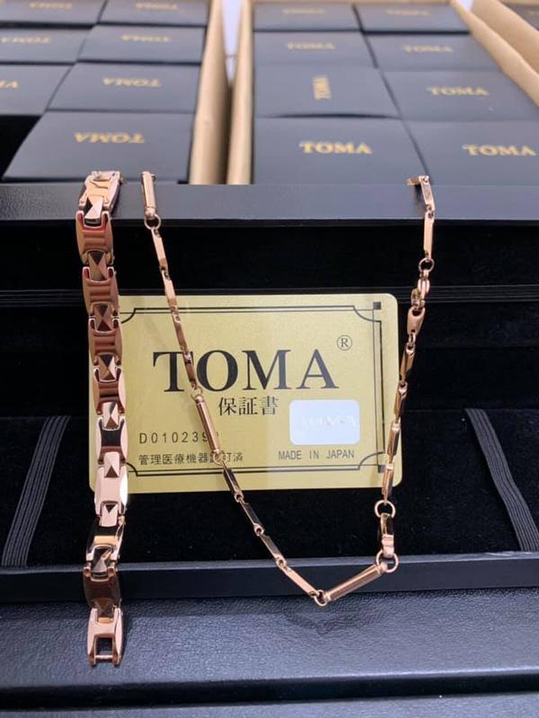 Vòng điều hòa huyết áp Toma đeo cổ cho nữ