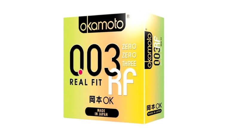 Bao cao su Okamoto 003 Real fit