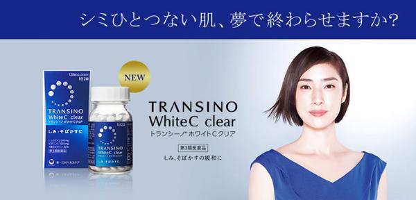 Viên uống rị nám Transino white c