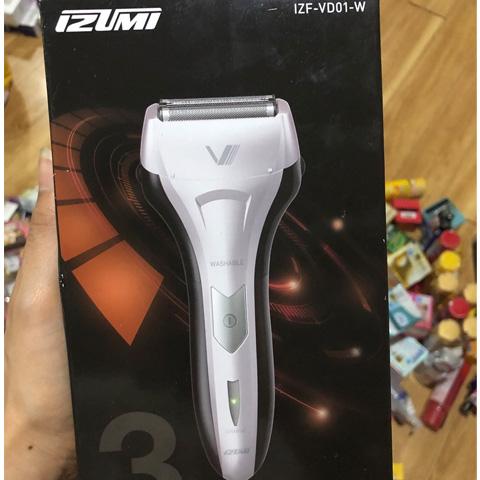 Máy cạo râu 3 lưỡi Izumi Moder IZF-VD01-W